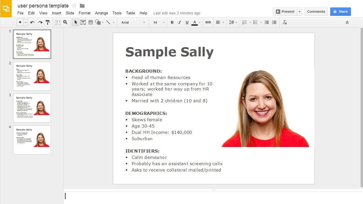 landing-page-optimization-user-persona-template