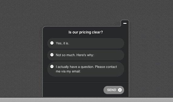 pricing-survey-question
