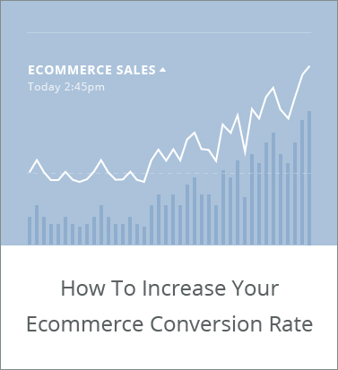 ecommerce conversion rate google analytics