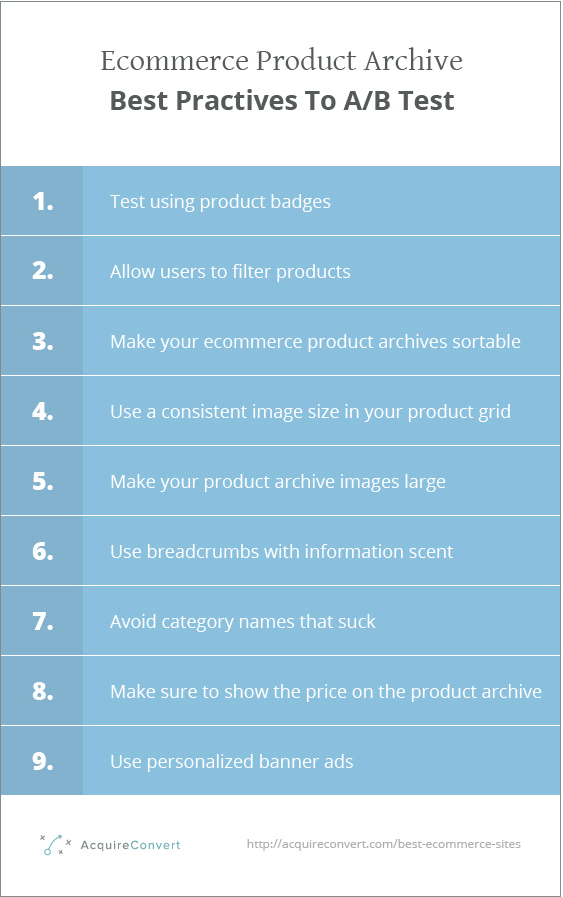 product-archive-ecommerce-best-practices