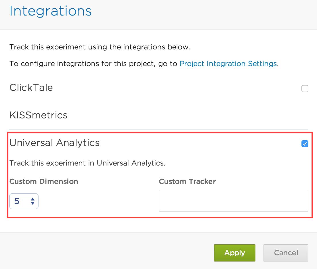 Universal Analytics Editor