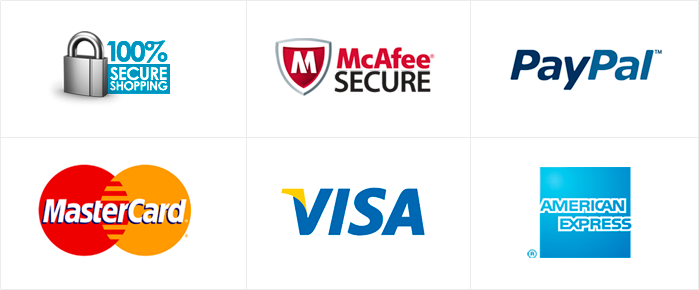 Secure Shopping Logos