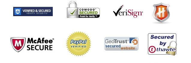 Trust Badges Secure Shopping