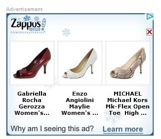 zappos retarget cartabandon