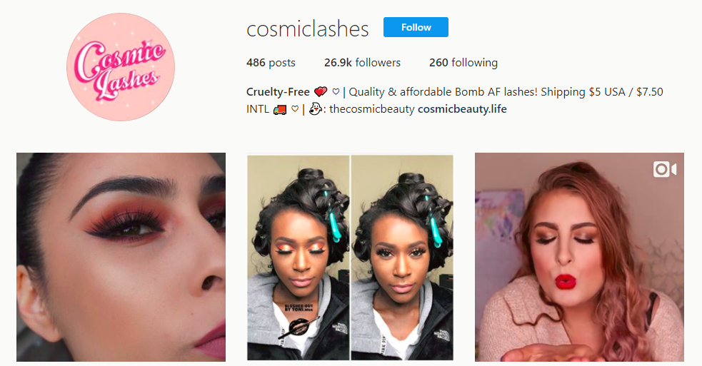 Cruelty Free cosmiclashes Instagram photos and videos