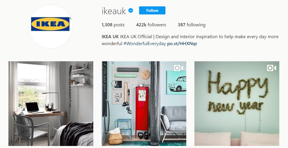 b7b9c3e70 9  Instagram Bio Ideas To Supercharge Your Ecommerce in 2019