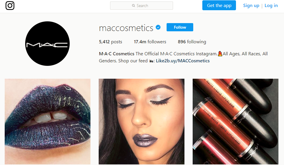 M A C Cosmetics maccosmetics Instagram photos and videos