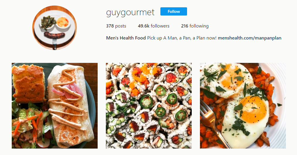 Men s Health Food guygourmet Instagram photos and videos