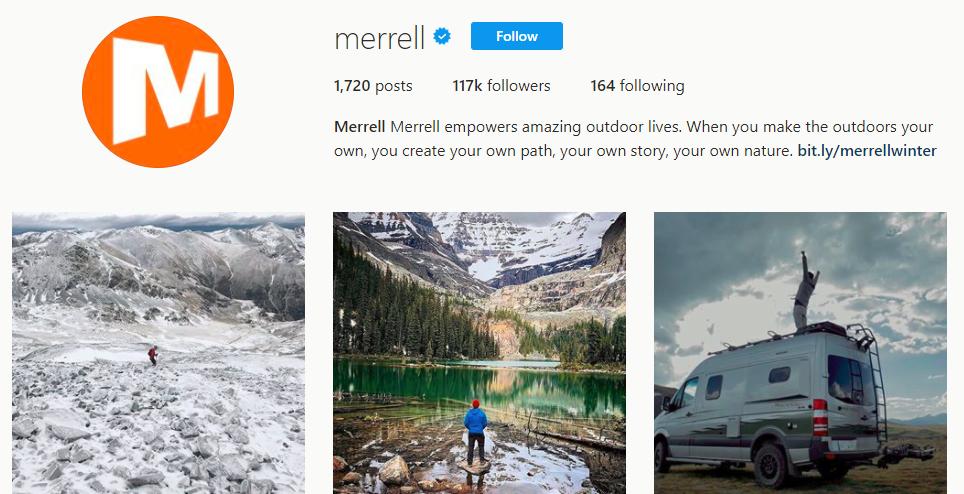 Merrell merrell Instagram photos and videos