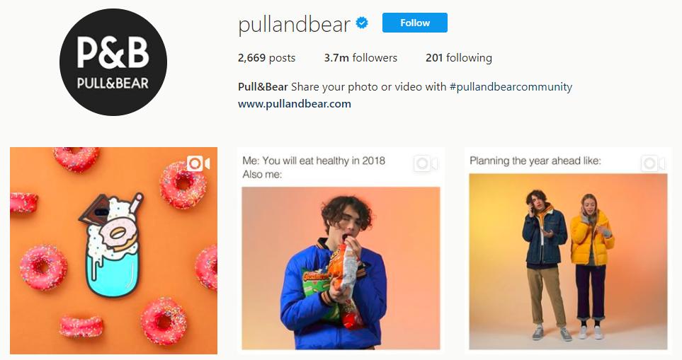 Pull Bear pullandbear Instagram photos and videos