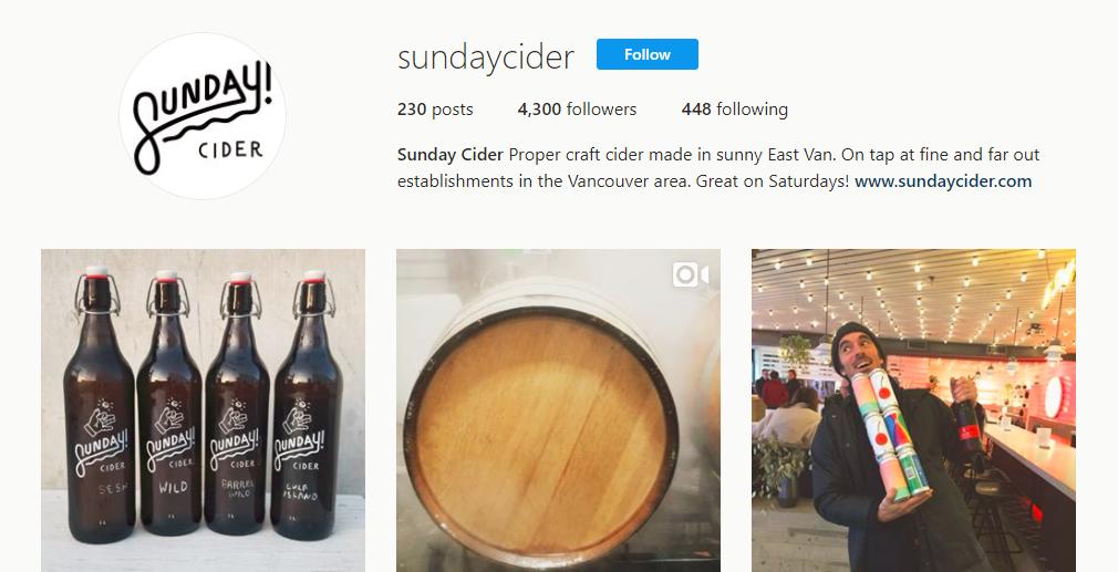 Sunday Cider sundaycider Instagram photos and videos