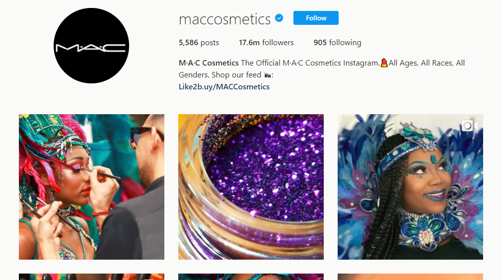 M A C Cosmetics Instagram