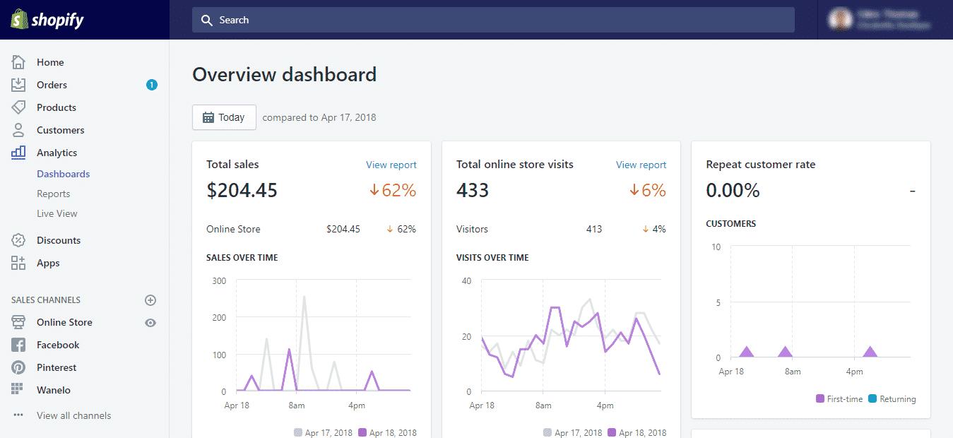 Shopify Dashboard 5 2