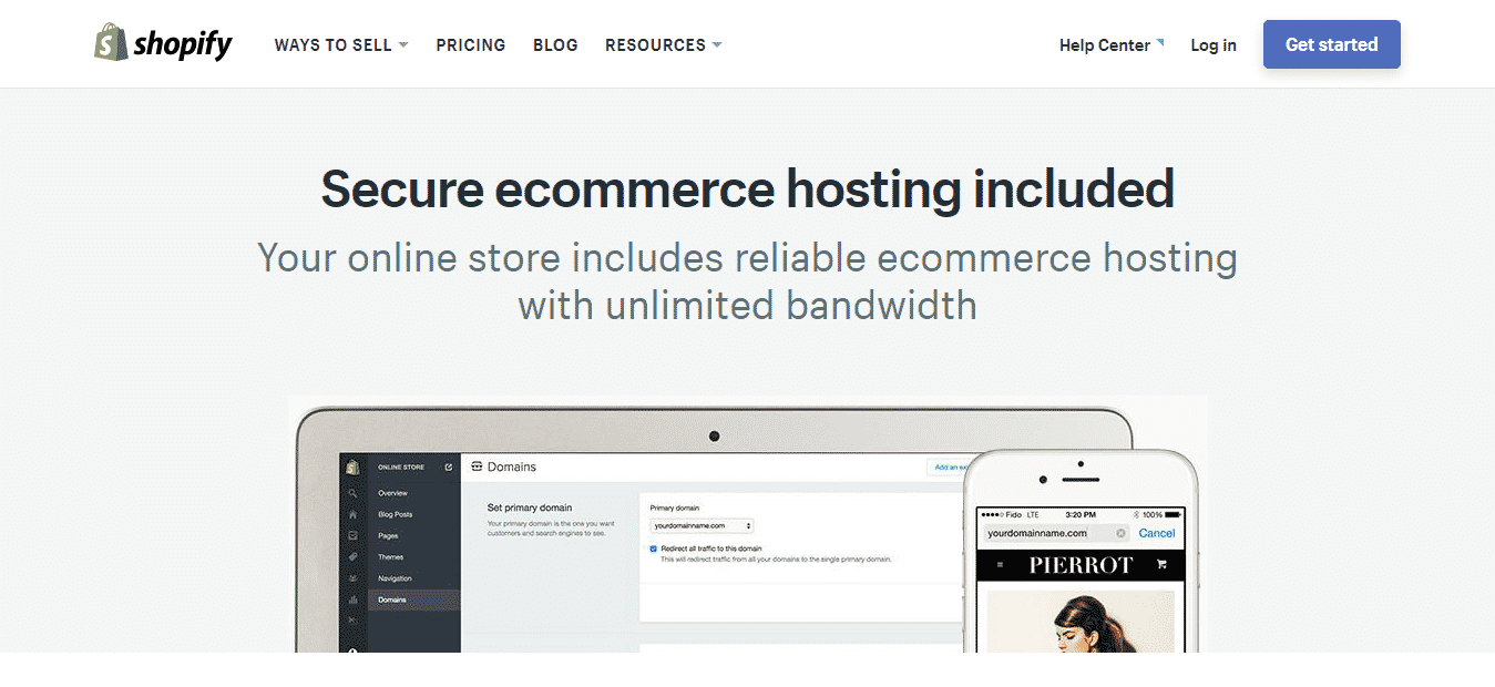 Shopify Hosting 2