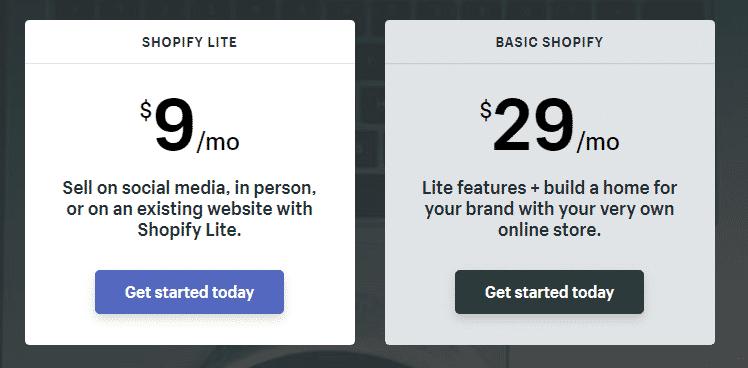 Shopify Lite Basic 2