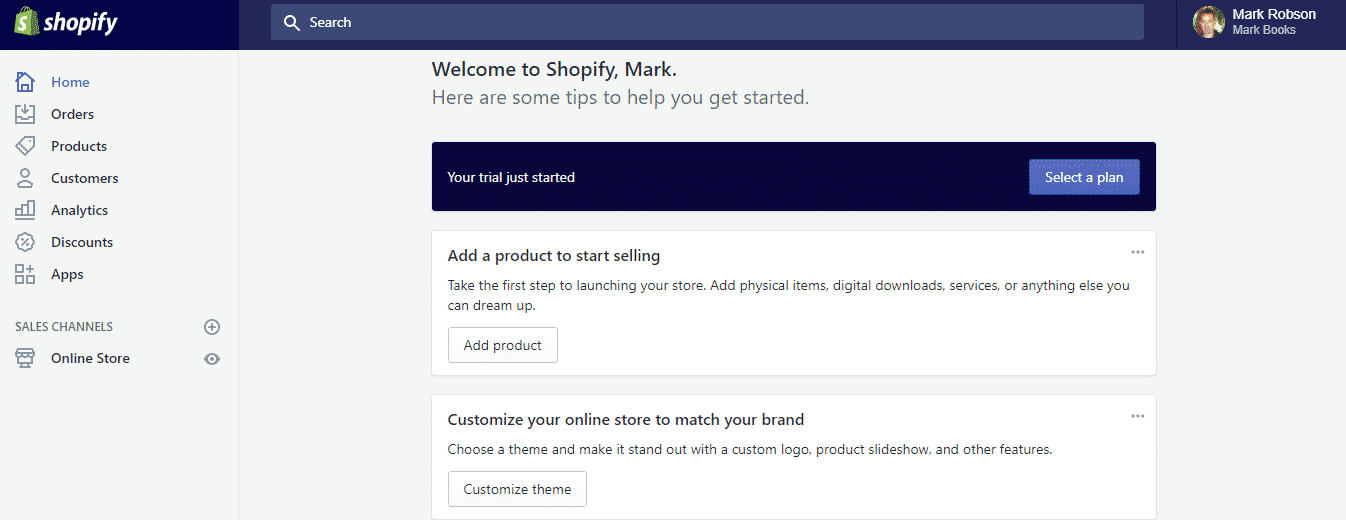 Shopify Sign Up Step 3 2