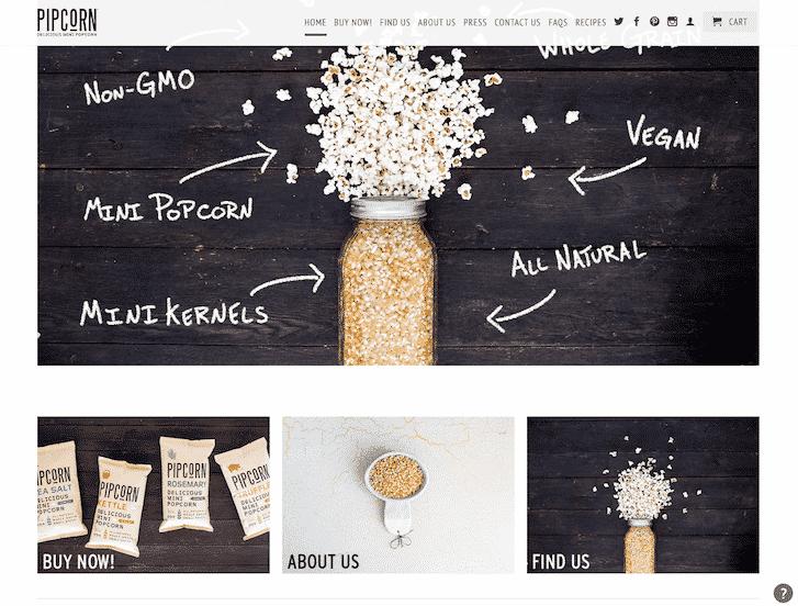 ecommerce website simplicity 2
